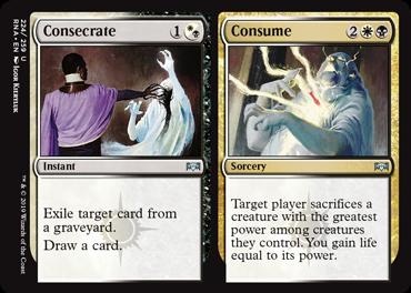 Consecrate // Consume