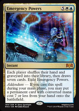 Emergency Powers - Magic: the Gathering