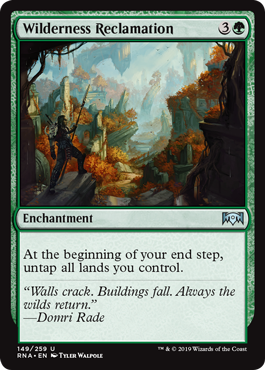 Wilderness Reclamation - Magic: the Gathering