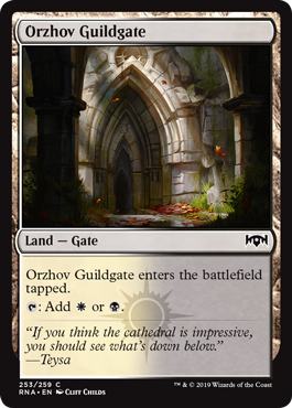 Orzhov Guildgate (b)