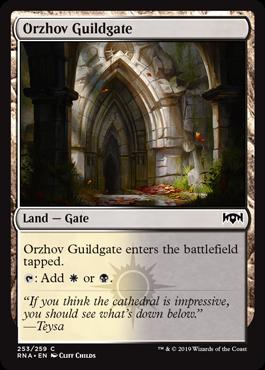 Orzhov Guildgate (b)