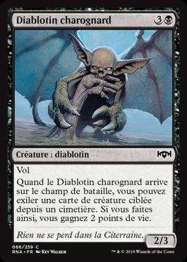 Diablotin charognard