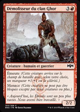 Démolisseur du clan Ghor