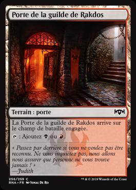 Porte de la guilde de Rakdos