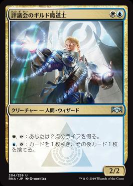 評議会のギルド魔道士