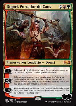 Domri, Portador do Caos