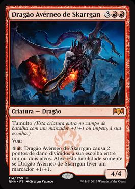 Dragão Avérneo de Skarrgan