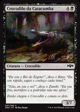 Crocodilo da Catacumba
