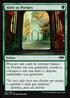Abrir os Portões