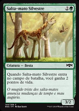Salta-mato Silvestre