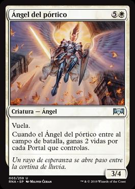 Ángel del pórtico