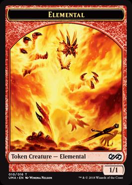 Elemental (Fire) Token