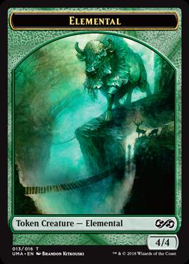 Elemental (green) Token