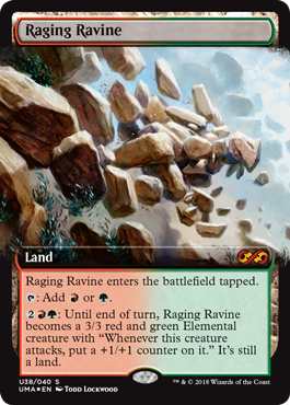 Raging Ravine Box Topper