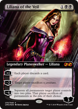 Liliana of the Veil Box Topper