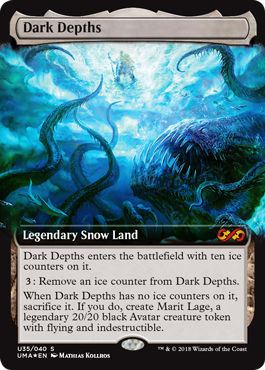 Dark Depths Box Topper