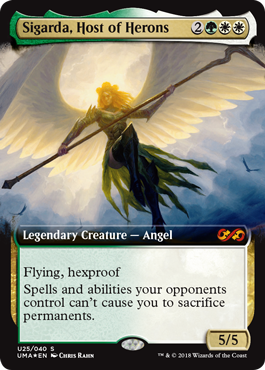 Sigarda, Host of Herons Box Topper