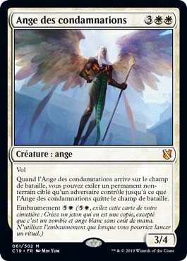 Ange des condamnations