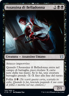 Assassina di Belladonna