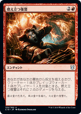 燃え立つ復讐(Burning Vengeance)