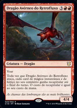 Dragão Avérneo do Retrofluxo