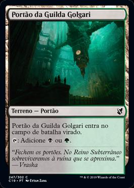 Portão da Guilda Golgari