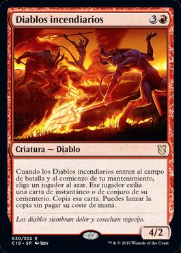 Diablos incendiarios