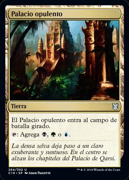 Palacio opulento