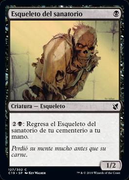 Esqueleto del sanatorio