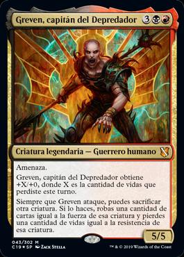 Greven, capitán del Depredador