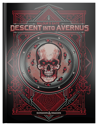 Baldurs Gate: Descent into Avernus: Alternate Cover: Dungeons and Dragons -  Wizards of the Coast