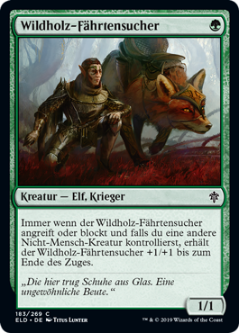 Wildholz-Fährtensucher