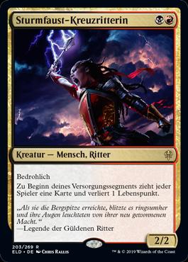 Sturmfaust-Kreuzritterin