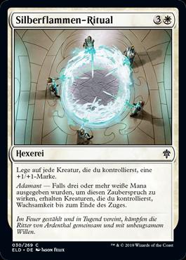 Silberflammen-Ritual