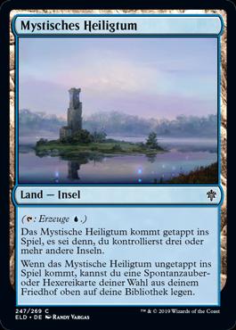 Mystisches Heiligtum