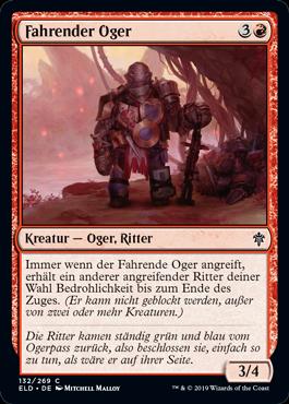 Fahrender Oger