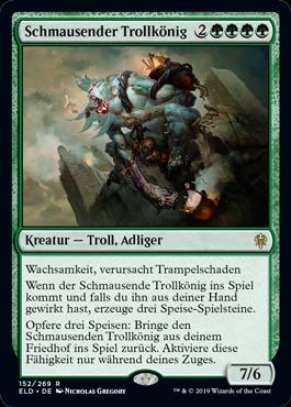 Schmausender Trollkönig