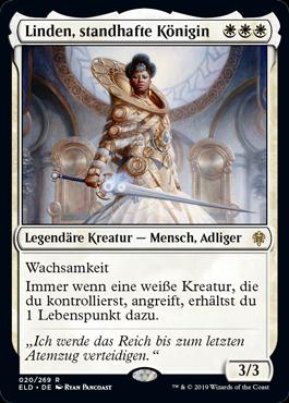 Linden, standhafte Königin
