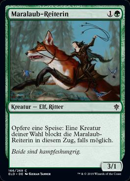 Maralaub-Reiterin