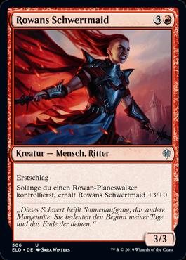 Rowans Schwertmaid