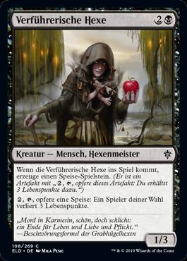 Verführerische Hexe