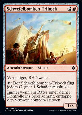 Schwefelbomben-Tribock