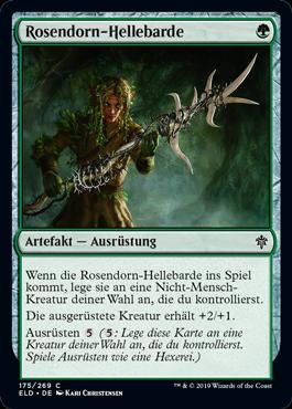 Rosendorn-Hellebarde