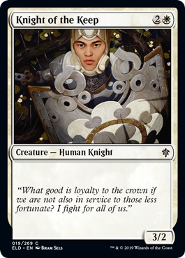 Knight of the Keep - Magic: the Gathering