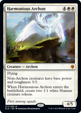 Harmonious Archon - Magic: the Gathering