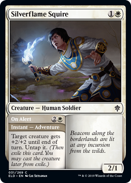 Silverflame Squire - Magic: the Gathering
