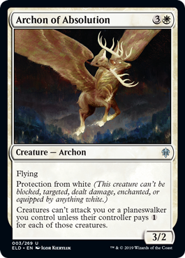 Archon of Absolution - Magic: the Gathering