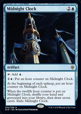Midnight Clock - Magic: the Gathering