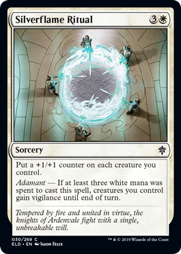 Silverflame Ritual - Magic: the Gathering
