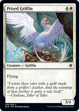 Prized Griffin - Magic: the Gathering